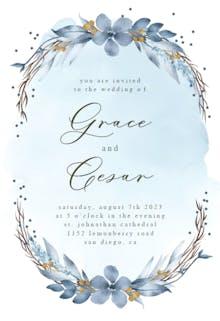 Winter Bride - Wedding Invitation