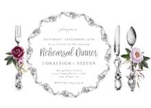 Dinner ware - Invitación Para Cena De Esnayo
