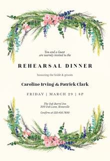 rehearsal dinner invitation templates free greetings island