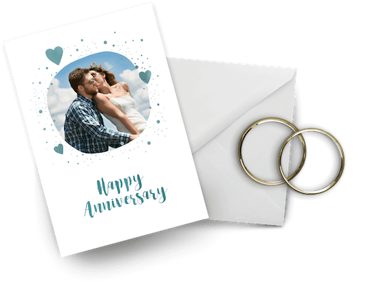 Anniversary cards to a couple