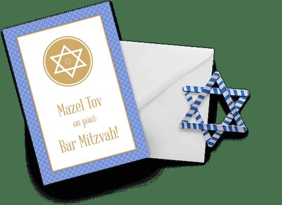 Tarjetas de Bar Mitzvah
