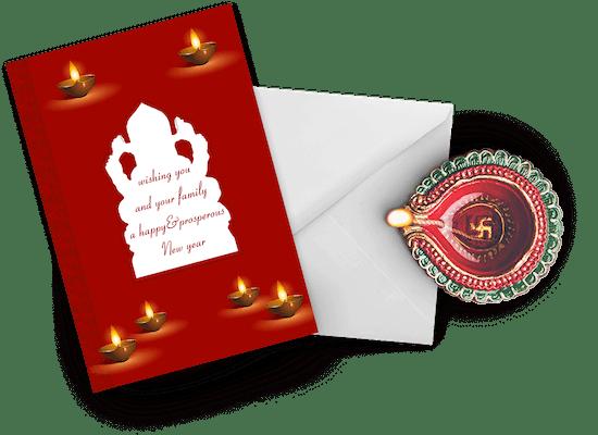 Tarjetas de Diwali