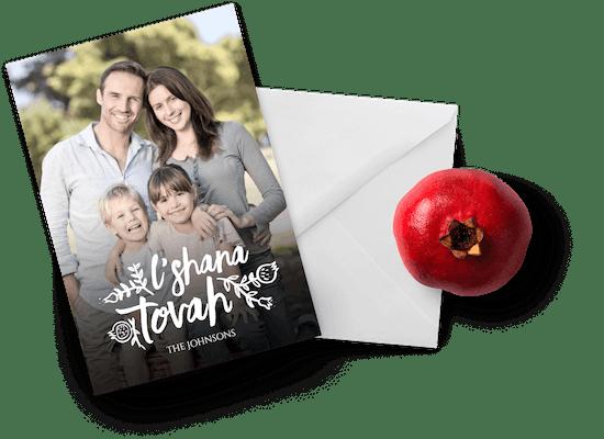 Tarjetas de Rosh Hashanah
