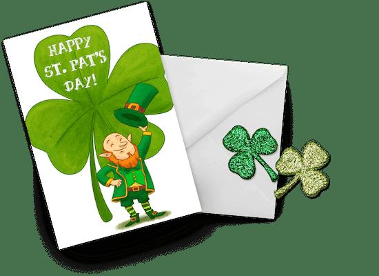 Tarjetas del Día de San Patricio