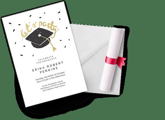 Invitaciones Para Graduación