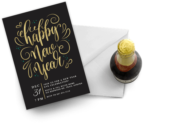 New Year invitations