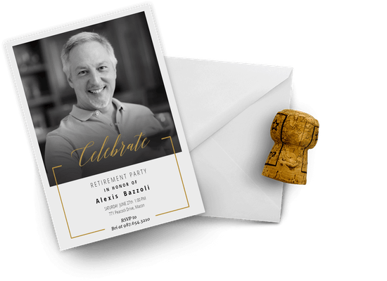 Retirement & Farewell party invitations