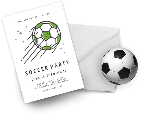 Sports & Games invitations