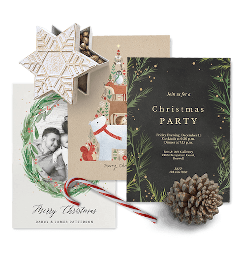 Christmas Invitations and cards