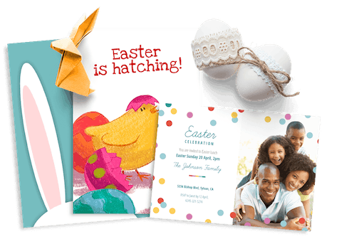Easter Invitations and cards