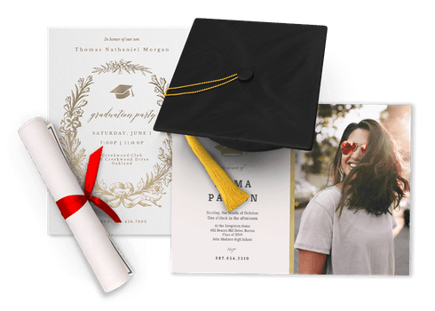 Graduation Invitations & Snnouncements