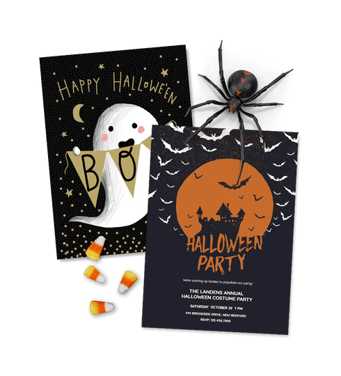 Halloween Invitations and cards